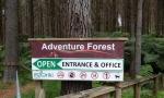Glenbervie Adventure Forest Sign - Whangarei