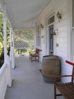 Front veranda of Lupton Lodge, Whangarei