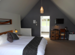 Purple Room - upstairs king room with ensuite, Located in a modern converted barn