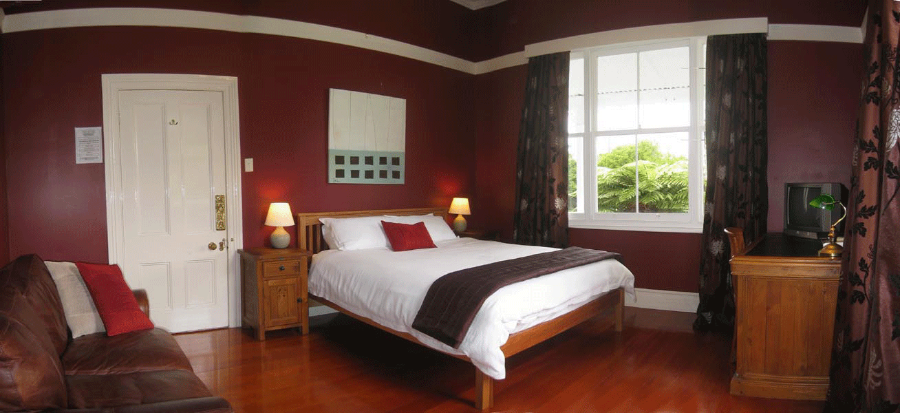 The Red Room Bedroom