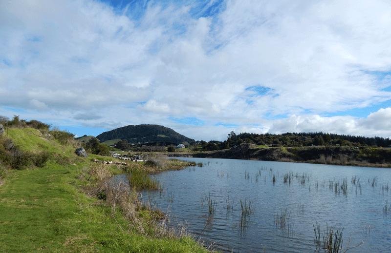 Waro-limestone-lake