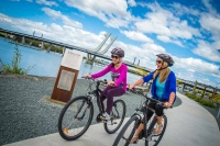 Bring your own or hire a bike and cycle the 4.2km loop track (northlandnz.com)