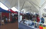 Artisan Market on the Bridge at the Town Basin